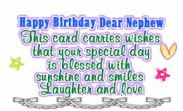 great collection of cute and bit funny nephew happy birthday quote ...