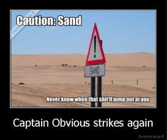 obvious more stupido captain obvious