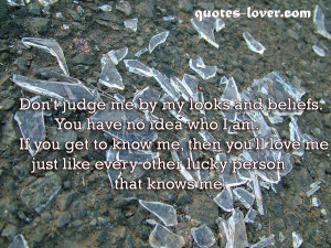 ... Picture Quotes , Inspirational Picture Quotes , Judge Picture Quotes