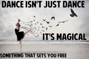 cute, dance by daniella, dance magic free, love, pretty, quote, quotes