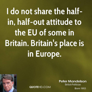 Peter Mandelson Quotes