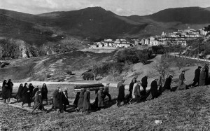 funeral in Italy, 1951. Photo by Henri Cartier-Bresson/Magnum Photos