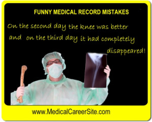... ://www.youtube.com/watch?v=AbCOH9qysgg Funny doctor chart bloopers