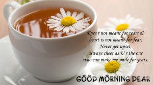 Good Morning Dear Wish Quotes Wallpapers