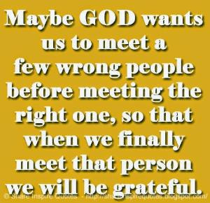finally meet that person we will be grateful. | Share Inspire Quotes ...