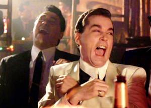 Ray Liotta Laughing In Goodfellas - #RayLiotta #Laughing #Goodfellas