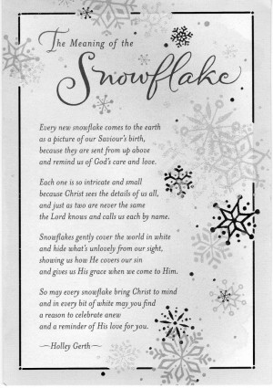 ... Poems, Snowflake Quotes, Christian Christmas Poems, Snowman Quotes