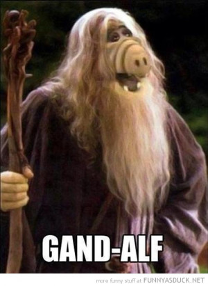 gand alf lord rings photoshop movie fil tv funny pics pictures pic