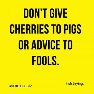Irish Sayings Quotes