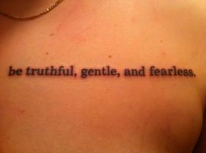 fearless quote tattoo fearless quote tattoo genesis quote tattoo ...
