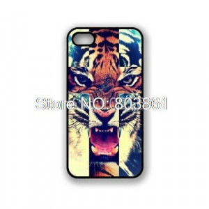 Tiger-Roar-Cross-Hipster-Quote-Galaxy-Hipster-Cat-Cat-Snap-Case-For ...