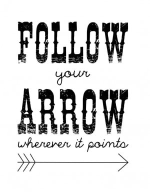 ... arrow wherever it points kacey musgraves # quotes # followyourarrow