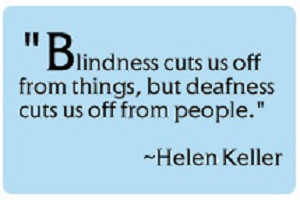 Helen Keller Hearing Loss Quotes