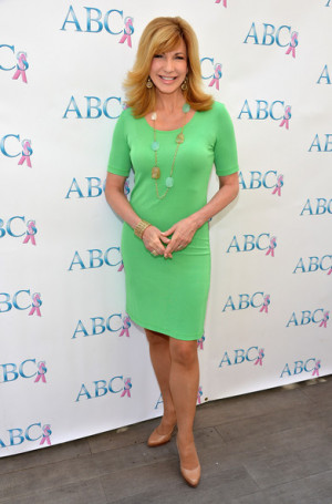 Leeza Gibbons TV host Leeza Gibbons attends The Associates for Breast