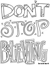 inspirational sayings colouring pages (page 3)