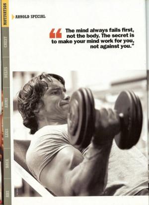 Bodybuilding Motivational Quotes Tumblrarnold Schwarzenegger Tumblr ...