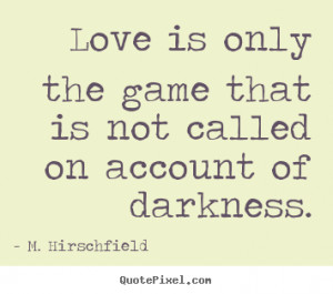 Commitment Love is wonderful, but no one ever said love relationships ...