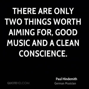 Paul Hindemith Music Quotes