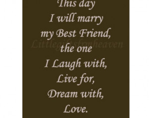 Wedding Day Quotes Printable wedding quote- i