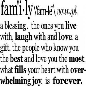 Definition of Family {Vinyl}