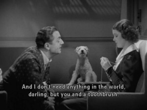 Favorite moment in 'After The Thin Man' 1936 .