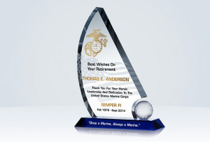 ... Military Gifts » U.S. Marine Corps » Marine Corps Retirement Gift