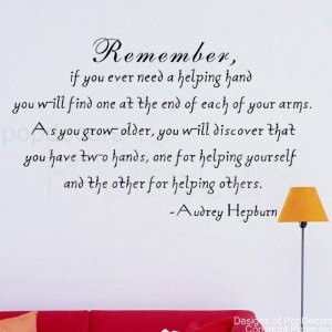 Famous Quotes Helping Hands. QuotesGram