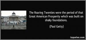 Roaring 20s Quotes
