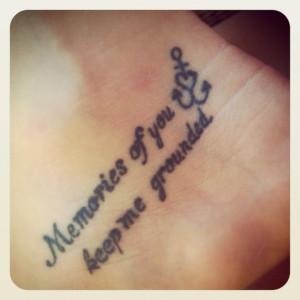 In Memory Of Grandma Tattoo Ideas