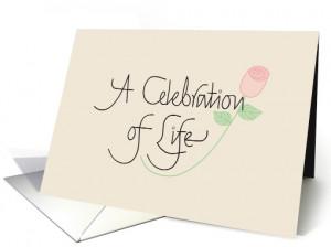 Celebration of Life Memorial Services