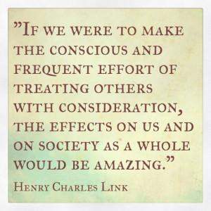 kindness #consideration = #amazing