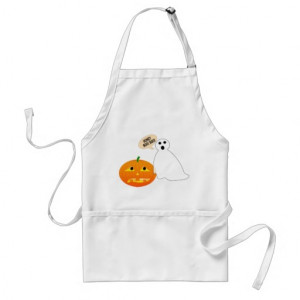 Honey Boo Boo Ghost and Pumpkin Apron