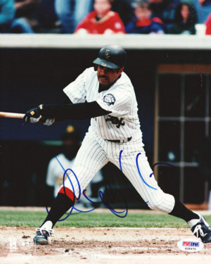 Ozzie Guillen Autographed 8x10 Photo White Sox PSA/DNA #S35970