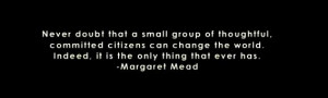 margaret mead saying