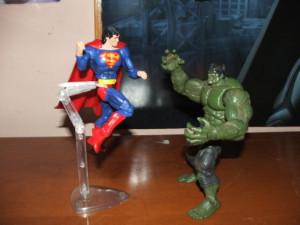 Hulk vs. Superman 2 Images