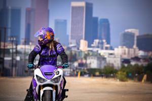 Leah Petersen Motorcycle Stunt Rider – Real Biker Girl