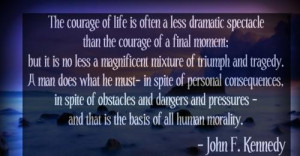 John f kennedy famous quotes and sayings life human