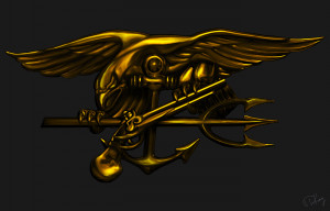 US Navy SEAL Trident by TKingArt