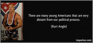 There are many young Americans that are very distant from our ...