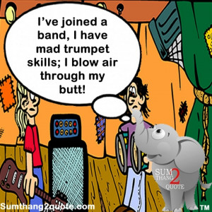 ... laugh #laughter #humor #silly #lol #lmao #band #trumpet #mad