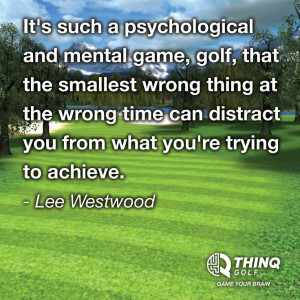 Lee Westwood Quote#golf #lorisgolfshoppe