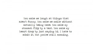 black and white, cute, love, paulina, quotes