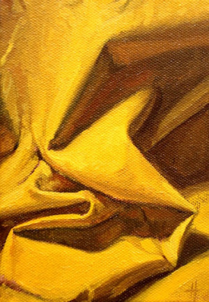 Composition in Yellow: Sunshine Yellow, Art Composition, Yellow Fabric ...