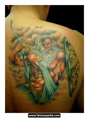 Pin Zeus Tattoo Page Greek God