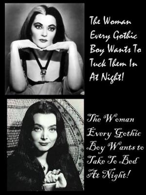 Rare Beautiful, Gothic Rollmodel, Morticia Addams, Models Xd, True ...