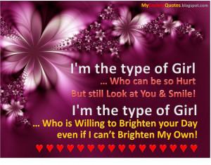 mthe Type of Girl
