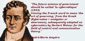 Andre marie ampere quotes 3