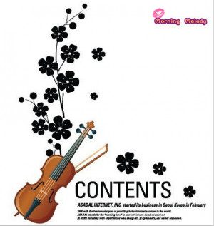 ... Funny-home-deco-wall-sticker-violin-with-flowers-art-quotes-removable