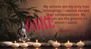 Category: Fake Buddha Quotes