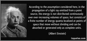 According to the assumption considered here, in the propagation of a ...